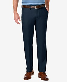 Men's Cool 18 PRO Stretch Straight Fit Flat Front Dress Pants