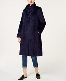Eileen Fisher High-Collar Coat