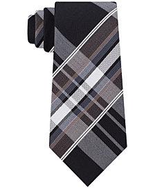 Kenneth Cole Reaction Men's Plaid Slim Tie