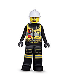 Lego Iconic Firefighter Prestige Big Boys Costume