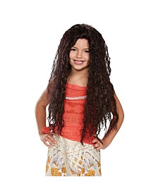Disney Princess Moana Deluxe Big Girls Wig
