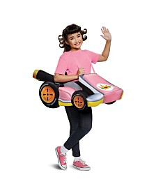 Super Mario Bros. Peach Kart Big Girls Costume