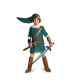 Legend of Zelda Link Prestige Little and Big Boys Costume