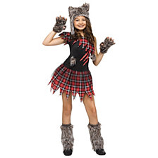 Wick'd Wolfie Big Girls Costume