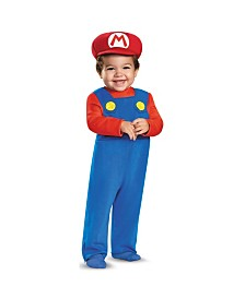 Super Mario Bros Mario Baby Boys Costume