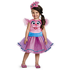 Abby Tutu Deluxe Toddler Girls Costume