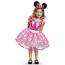 Pink Minnie Mouse Deluxe Tutu Toddler Girls Costume