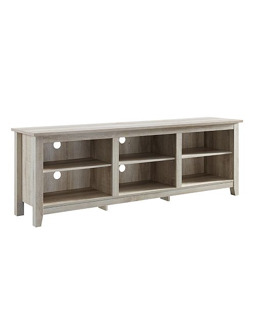 Walker Edison 70 Inch Wood Media Tv Stand Storage Console