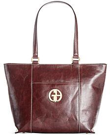 Giani Bernini Glazed Tote, Created for Macy's