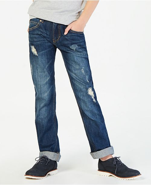 Tommy Hilfiger Big Boys Regular-Fit Niagara Stretch Jeans