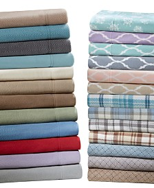 True North by Sleep Philosophy Micro Fleece Sheet Set Collection