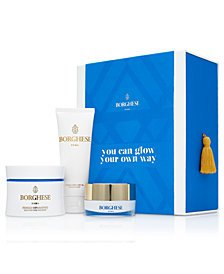 Purchase Borghese Glow Your Own Way Set For $29.50 With Your Purchase of A Qualifying Full Size Borghese Mud Mask