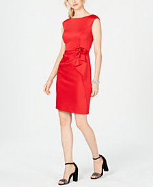 Vince Camuto Ruffled Sleeveless Sheath Dress