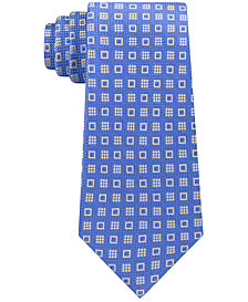 Michael Kors Men's Halo Square Neat Silk Tie