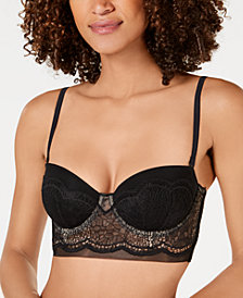 Calvin Klein Women's Crackled Lace Bra QF4970