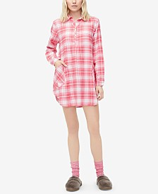 UGG® Gabri Printed Sleepshirt & Fleece Socks Set