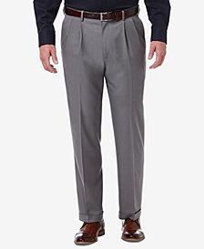 Haggar Men's Classic-Fit Premium Comfort Stretch Solid Dress Pants