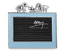 "Michael Aram Elephant 4x6"" Blue Frame"