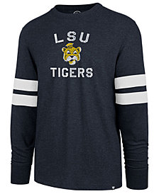 '47 Brand Men's LSU Tigers Long Sleeve Scramble T-Shirt