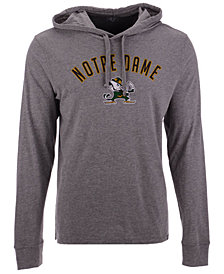 '47 Brand Men's Notre Dame Fighting Irish Long Sleeve Focus Hooded T-Shirt