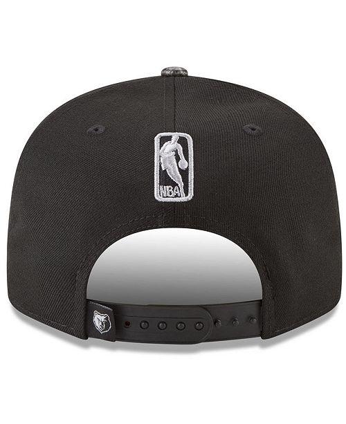 the best attitude aca5c 149f4 New Era Memphis Grizzlies Snakeskin Sleek 9FIFTY Snapback Cap ...