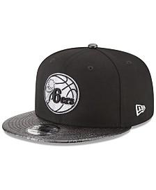 New Era Philadelphia 76ers Snakeskin Sleek 9FIFTY Snapback Cap
