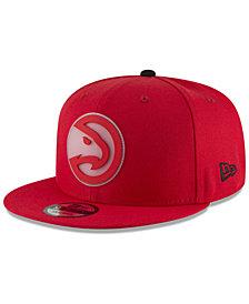 New Era Atlanta Hawks Team Cleared 9FIFTY Snapback Cap