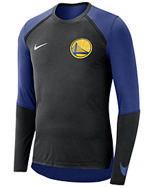 Nike Men's Golden State Warriors Dry Long Sleeve Top