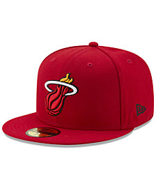 New Era Miami Heat Basic 59FIFTY Fitted Cap 2018