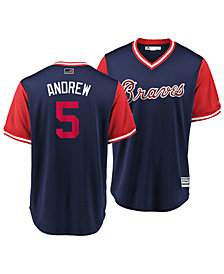 Majestic Men's Freddie Freeman Atlanta Braves Players Weekend Replica Cool Base Jersey