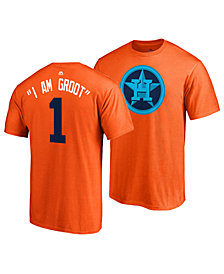 Majestic Men's Carlos Correa Houston Astros Player's Weekend Name and Number T-Shirt