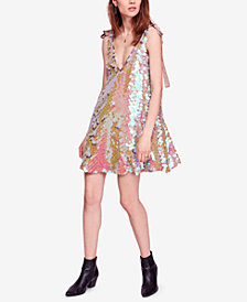 Free People Penelope Sequin Mini Dress