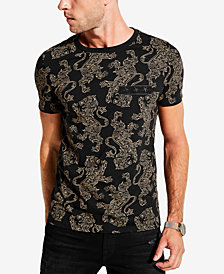 GUESS Men's Regal Lion T-Shirt