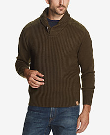 Weatherproof Vintage Men's Toggle Shawl-Collar Sweater