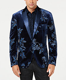 I.N.C. Men's Floral Puff-Print Blazer, Created for Macy's