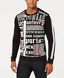 I.N.C. Men's Freestyle Graphic Sweatshirt, Created for Macy's