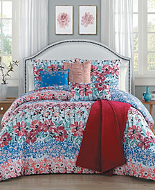 Carla 7 Pc Queen Comforter Set