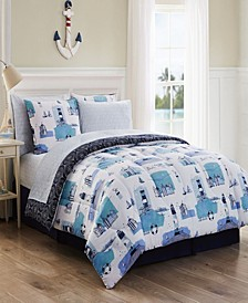 Stone Harbor 8-Pc. Bed In A Bag Collection