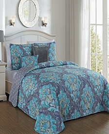 Forte 5 Pc Queen Quilt Set