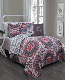 Malta 5 Pc Queen Comforter Set