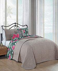 Tropical Paradise 5 Pc King Quilt Set