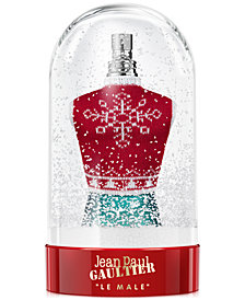 Jean Paul Gaultier Men's Le Male Eau de Toilette Snowglobe Collector, 4.2-oz.