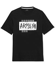 A|X Armani Exchange Men's Graffiti Logo T-Shirt
