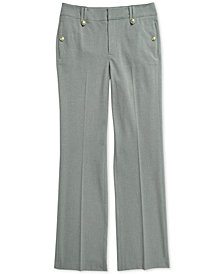 Tommy Hilfiger Adaptive Women's Stretch Pants with Magnetic Fly
