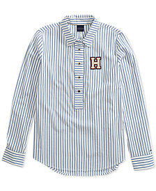 Tommy Hilfiger Flicka Stripe Shirt from The Adaptive Collection