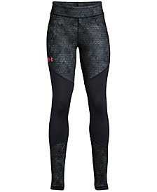 Under Armour Printed ColdGear Leggings, Big Girls