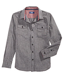 Univibe Big Boys Hudson Speckle Shirt