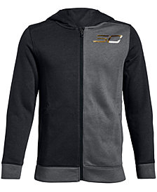 Under Armour Big Boys SC30 Colorblocked Zip-Up Hoodie