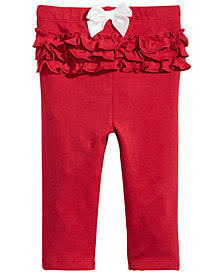 First Impressions Baby Girls Ruffle Trim Leggings, Created for Macy's