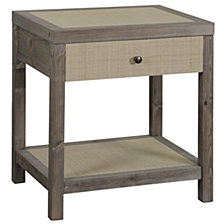 Blayke 1 Drawer End Table, Quick Ship